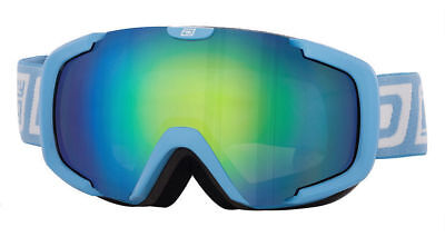 DIRTY DOG STAMPEDE SNOW BOARD SKI GOGGLES LIGHTER BLUE - FUSION MIRROR ** (Dirty Board)
