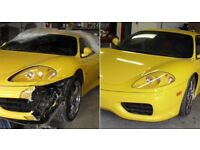 CAR BODY REPAIRS PROFESSIONAL SERVICE
