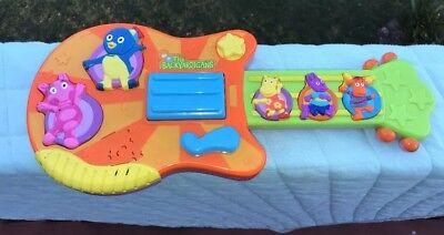 Used, Nickelodeon Nick Jr The Backyardigans Guitar Musical Toy Pablo Tyrone Uniqua EUC for sale  Cumming