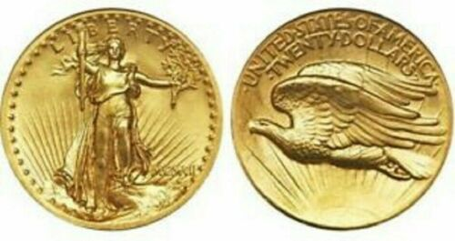 10 FOR 1 PRICE 1907 MINI ST GAUDENS GOLD COINS 1/2 GRAM BULLION FREE SHIPPING