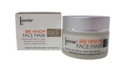 Lanocreme BEE VENOM FACE MASK 50ml 1 3/5 oz NEW IN BOX