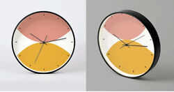 D265 Modern Style Metal Mute Living Room Decoration Wall Clock 12 Inch A
