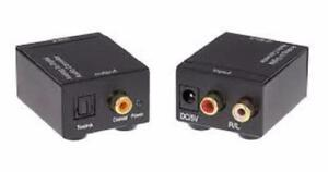 Weekly Promo! DIGITAL SPDIF TO ANALOG RCA AUDIO CONVERTER $29.99(was$49.99)