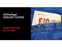 Oxford University English Tutor, Teacher, Tuition for ONE-TO-ONE, SMALL GROUP and ONLINE LESSONS