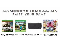 Save up to 50% on Xbox One PS4 Switch Wii U Xbox 360 PS3 Wii 3DS PS Vita & Playstation items!