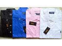 Ralph Lauren Shirts Plain Coloured Pony wholesale only
