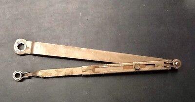 Ajustable Door Closer Arm UL Rated With Parallel Bracket Sp Bronze  Finish