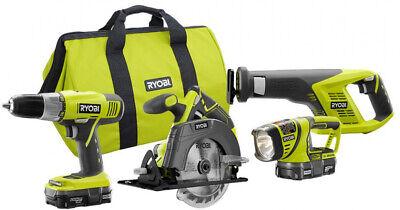 RYOBI 18v Cordless Circular Saw -Drill -Reciprocating Saw -W