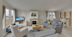 brand new lodge for sale - 12 month park ribble valley lancashire/ yorkshire boarder