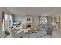 -LODGE WITH STUNNING VIEW ONTHE SOLWAY COAST-