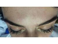 Individual Eyelash Extensions 1:1 method central london 40£