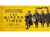 x2 Theatre tickets to see The Wipers Times at Salisbury Playhouse on Saturday 19th November at 19h30