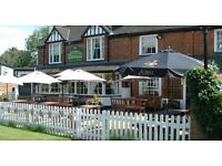Front of House Staff Required - The Cricketers Mill Green/ Fryerning - join our fantastic team!
