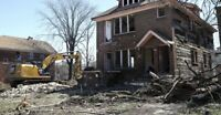 Residential Demolition •Holiday Discounts•