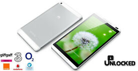 "Huawei MediaPad M1 8.0 S8-301L Android Tablet -16GB Silver - 8""- WiFi + 4G"