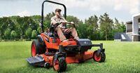 Landscape maintenance crew leader position