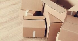 Empty used boxes in good condition for sale - Large - Small sizes