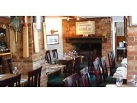 Kitchen Staff/ Chef Required - The Cricketers Mill Green/Fryerning - join our fantastic team!