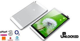 "Huawei MediaPad M1 8.0 S8-301L 16GB in Silver - 8"" - Android - WiFi 4G - Unlocked"