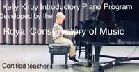 Piano classes for the young child