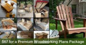16,000 D.I.Y. Woodworking Plans (Step-By-Step Diagrams)
