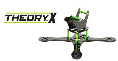 "Fop Helis Theory X 195 FPV Quadcopter Drone 5"" PROP Frame Kit BLH9450"