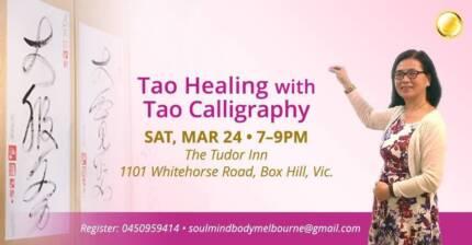 Tao Healing with Tao Calligraphy Evening