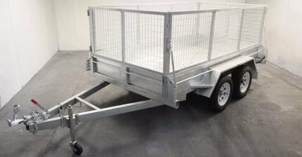 8x5 box trailer Galvanised tipper New NO cage dual axle tandem Noble Park North Greater Dandenong Preview