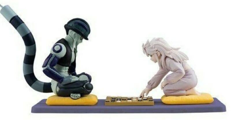 RARE Bandai Hunter x Hunter Styling Meruem vs Komugi Shogi Game Figure Anime