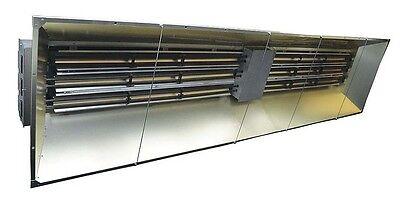 Infrared Heater 208 Volts - 92151 Btu - 27000 Watts - 3 Phase - Metal Sheath