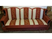 3 seater settee sofa in very good condition