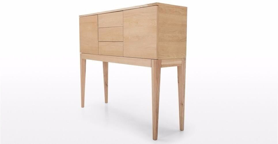 Oak Console Table Cabinet Sideboard Dresser from John Lewis as new - Bought for £ 799