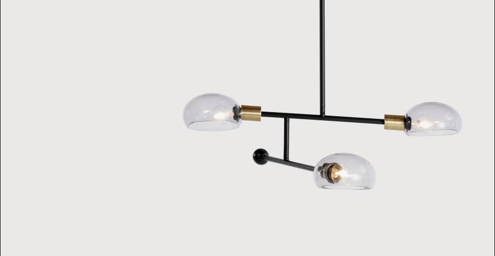 Tangle chandelier light from Made. | in Kentish Town, London | Gumtree