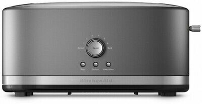 KitchenAid KMT4116CU 4 Slice Long Slot Toaster with High Lift Lever Contour