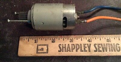 Electric Motor 12 Volt Powerful Motor From Childs Vehicle Strong Dc Motor Used