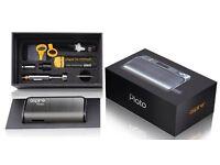 NEW Original Aspire Plato 50w TC Kit 5.6ml, All In One Vape System (Black)