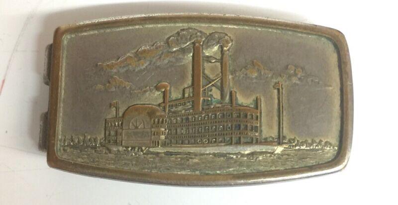 Vintage Showboat money clip Hason pat pend