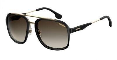 NEW Carrera CA 133 Sunglasses 02M2 Black Gold 100% AUTHENTIC