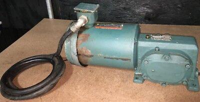 Reliance Master Xl Gear Motor 3 Phase 12 Hp 1725 Rpm 208230v P56h3884n-vp