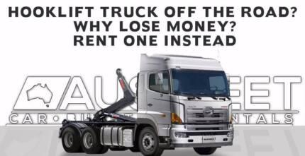Ausfleet Rentals - Hooklift Truck Rentals - Long Term Commercial