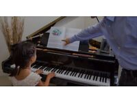 Piano lessons with high experienced teacher, musicologist and composer. Lessons for all ages.