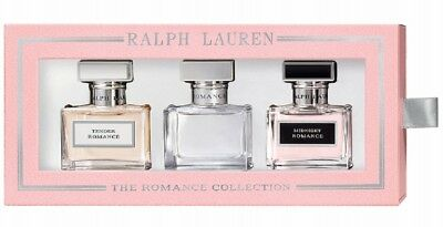 Ralph Lauren The Romance Perfume Collection Trio Romance Midnight Tender 3x1 (Ralph Lauren Romance Perfume Collection For Women)