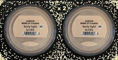 Bare Escentuals Bare Minerals Base Original Fairly Light N10 8g Set de 2