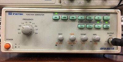 Gw Instek 3mhz Function Generator