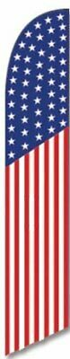 Usa American Swooper Feather Banner Flag Sign