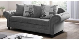 SALE ON FURNITURE-POSH FABRIC 3+2 SEATER SOFA- ORDER NOW