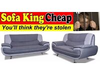 NEW 3+2 MODERN SOFA SET AT WHOLESALERS PRICES DIRECT TO YOU - SOFA KING CHEAP £399