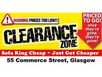 SOFA,CHAIRS AND CORNER GROUP CLEARANCE CENTER NOW OPEN-SOFA KING CHEAP YOU'LL THINK THEY ARE STOLEN