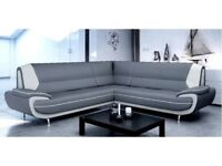 SOFA SALE **BRAND NEW CORNER SOFAS, 3+2 SETS, ARM CHAIRS AND FOOT STOOLS