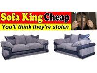 Brand New Balmoral Corner Group or 3+2 Sofa Set - Sofa King Cheap - Sofa King Comfy